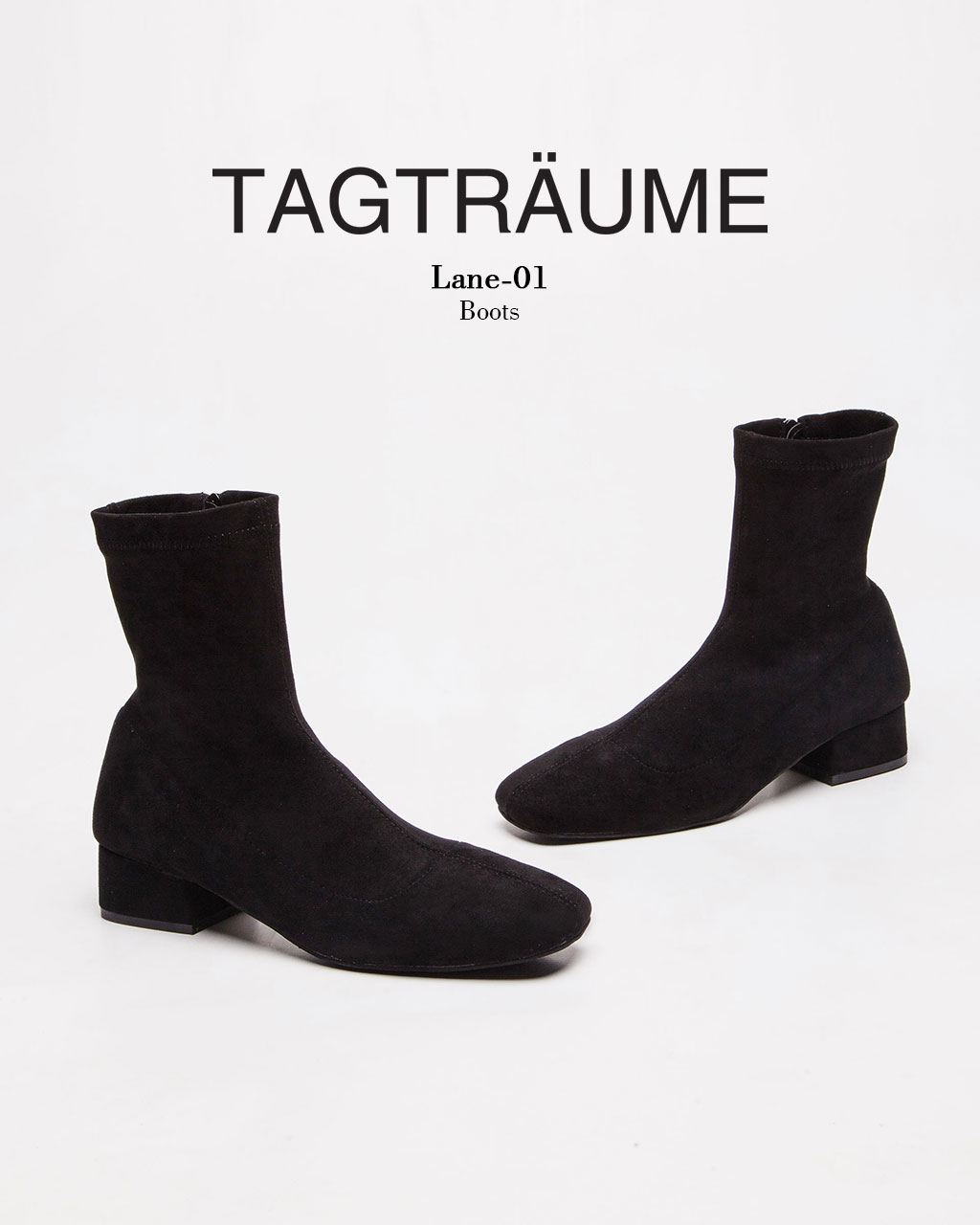 Tagtraume Lane-01 - Black Suede(블랙 스웨이드)