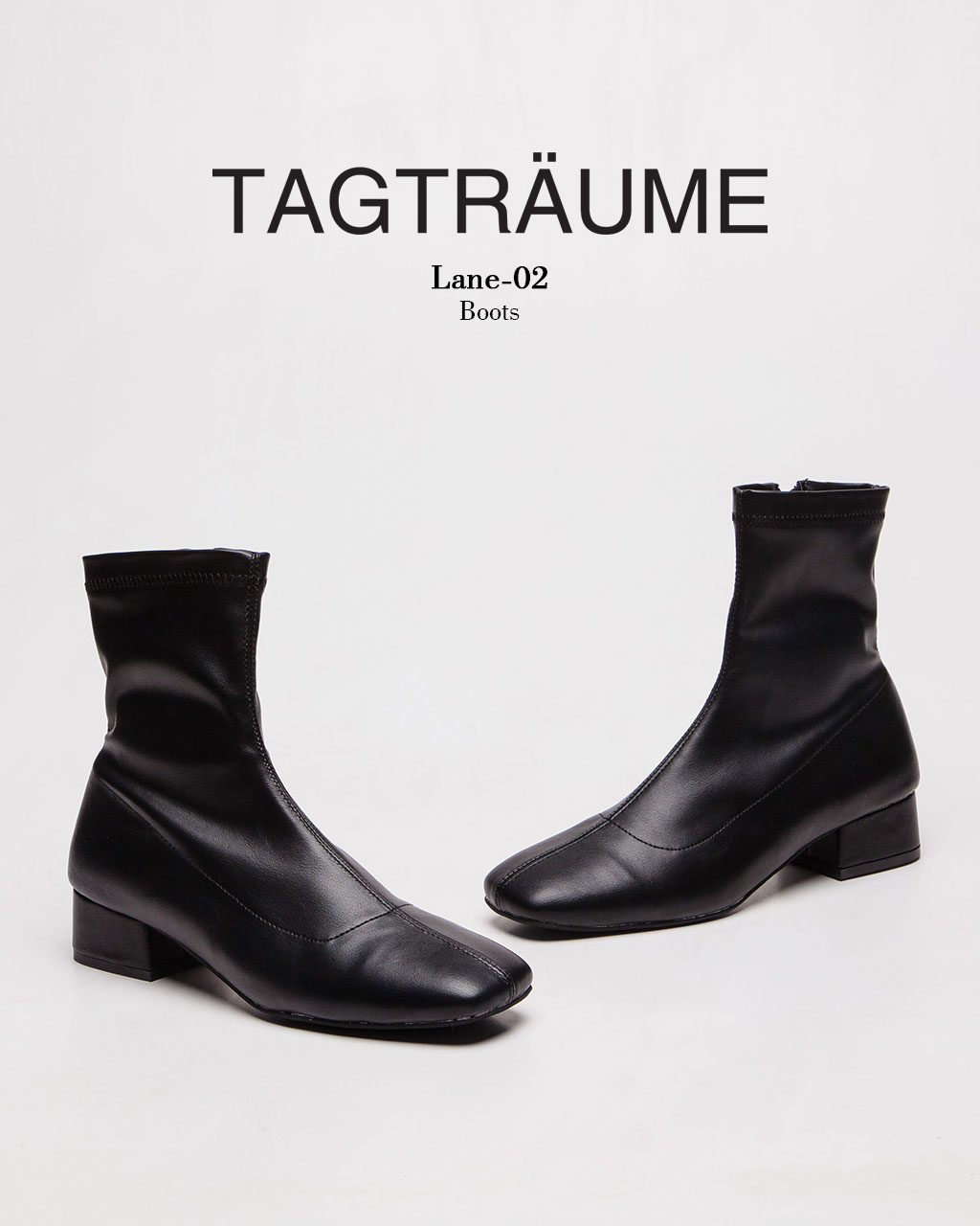 Tagtraume Lane-02 - Black PU(블랙 PU)